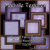 Madville Textures - Wood - Fabrics - Violet