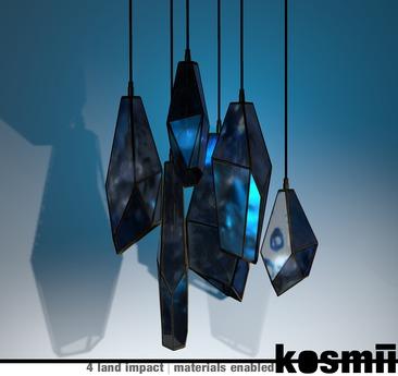 kosmii :: Crystalline Lamps [blue]