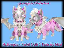 Hallowpup - Pastel Goth 2 Textures Mod