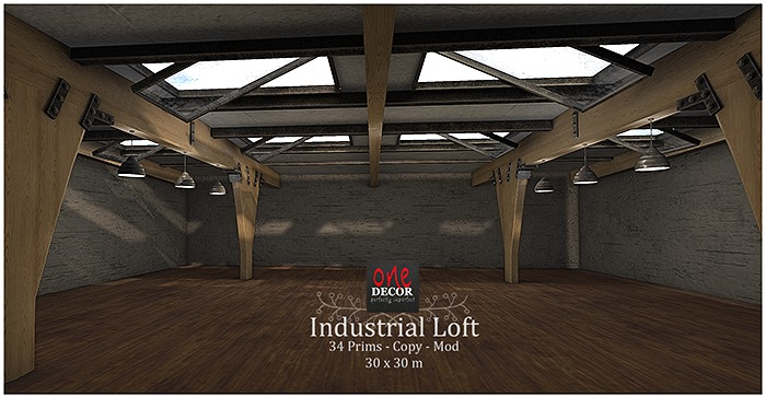 OneDecor_Industrial Loft. Box