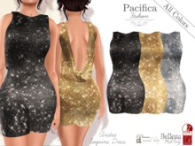 Pacifica Fashion - Andra Sequins Dress - Belleza, Maitreya, Slink (3 sizes)