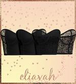 Eliavah ~ Ephermeral Bandeau [BLACK] (Maitreya, Slink Hourglass, Belleza Isis & Freya)