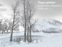 Y.B skybox mesh Yzuo winter (128/64)