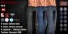 GAS [Men's Jeans Nick - 12x8x2 Colors w/HUD FATPACK]