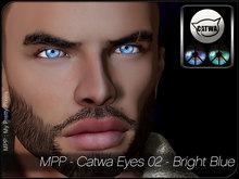 - MPP HUD - Catwa Eyes - Set02 - Bright Colors - Blue