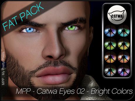 - MPP HUD - Catwa Eyes - Set02 - Bright Colors - FatPack