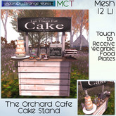 ~ASW~ The Orchard Cafe Cake Stand