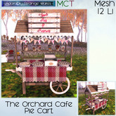 ~ASW~ The Orchard Cafe Pie Cart
