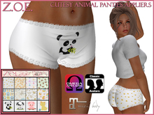 Z.O.E. Cutesy Animal Panties