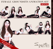 SEmotion Female GSits Set - 10 HQ BENTO Animations BUILDER's KIT Full permission