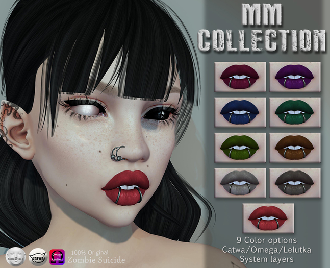 :Z.S: MM full collection lips