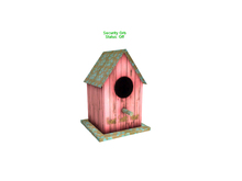 Gladly Creations :: Security Orb Bird House [Pink] - Cute and easy to use !!!