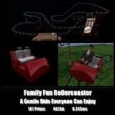 Family Fun Rollercoaster *0.313ms* low lag smooth non-physics