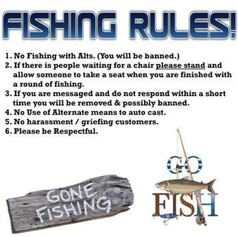 Second Life Marketplace Fishing Rules Gone Fishing Go Fish