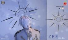 [Cubic Cherry] {Zee} halo SUN (gold)