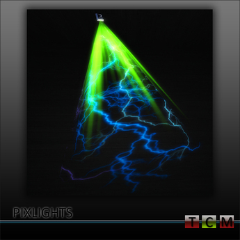 "PROMO !!! PIXLIGHTS ™ ""LIGHTNING STRIKE !"" LASER , CLUB LIGHT FLASH ( LIGHTING CLUB LIGHTS LASER SMOKE"