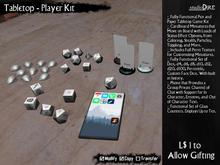 /studioDire/ Tabletop - Player Kit - L$1