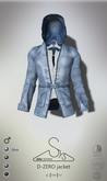 [sYs] D-ZERO jacket M (fitted & body mesh) - blue GIFT <3