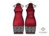 TUSSAY Sovaya Dress - Raspberry