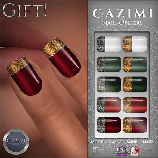 CAZIMI: Nails - December 2017 Gift