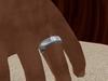 Tm mens diamond solitaire wedding band 4 001