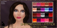 .:Glamorize:. Shimmerkiss Lips Tattoo Layers - 20 Colors