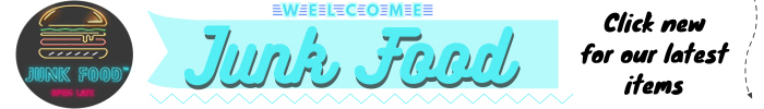 Junk food marketplace logo