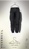 [sYs] LAZY pants (Male body mesh) - black
