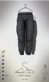 [sYs] LAZY pants (Male body mesh) - grey