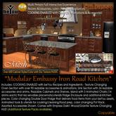 beYou Interactive Modular Embassy Iron Road Kitchen
