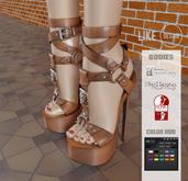 .: LIKE DESIGN :. Marbella Shoes ( With Color HUD )