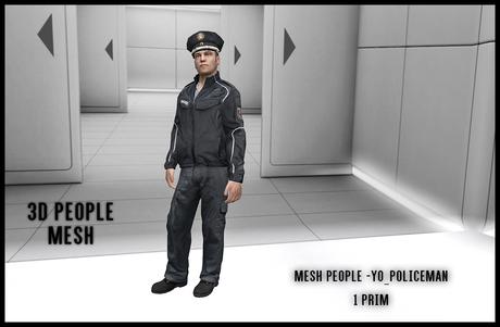 MESH PEOPLE -YO_Policeman