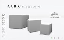 .:: AM ::. Cubic Mesh Lamp - TRIO Set, Menu driven