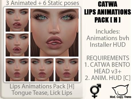 CATWA ANIM Lips [H]