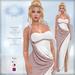 *Lurve* Trojan's Desire Gown - Soft Rose - Maitreya - Belleza - Slink Fitmesh