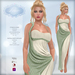 *Lurve* Trojan's Desire Gown - Sage - Maitreya - Belleza - Slink Fitmesh