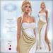 *Lurve* Trojan's Desire Gown - Gold - Maitreya - Belleza - Slink Fitmesh