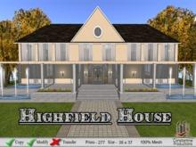 Highfield House DEMO footprint