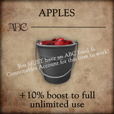 ABC - Apples - 1 Pack