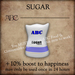 ABC - Sugar - 1 Pack