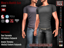 GAS [Men's Outfit Set #003]