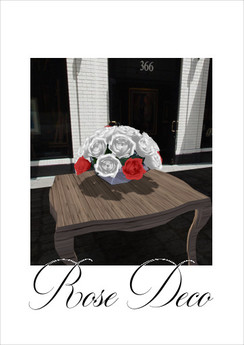p-a-b rose deco white red