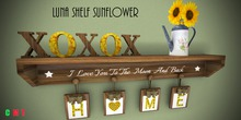 Luna Shelf Sunflower P