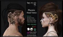 WR - Pheonix Head Tattoo aka Phoenix