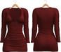 Blueberry - Zuzu Dress - Maitreya/Belleza/Slink - Red