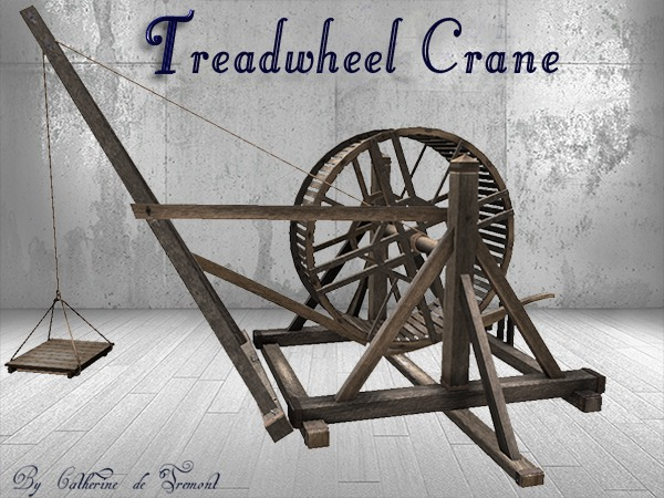 """CdT"" Treadwheel Crane"