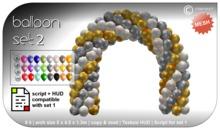 CONSTRUCT - Balloon Set 2 - Arch and Texture Hud - 6 li