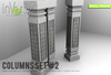 inVerse® MESH - COLUMNS SET #2 MESH full permission