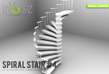 inVerse® MESH - SPIRAL STAIR #4 MESH full permission
