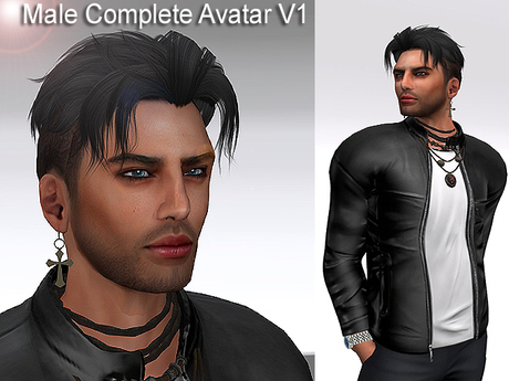 Second Life Marketplace Vision Male Complete Avatar V1